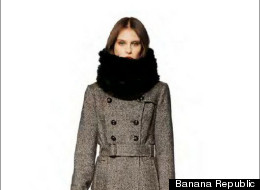 Banana Republic's fall look book is a lesson in layering and making your clothing transition from the end of summer to the winter.