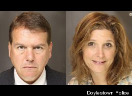Francis Joseph Medvedik, 49, and Caren Shanfield, 45, were arrested after their son called the cops to report that they were allegedly growing pot.
