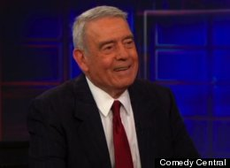 Dan Rather appeared on The Daily Show with Jon Stewart to discuss his new book, 'Rather Outspoken.'