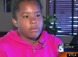 13-year-old Brea Persley was kicked out of Century Academy for Excellence in Inglewood, Calif., after her mother said a teacher made a racial slur.