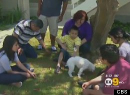 An Orange County family, including a child with cancer, was evicted from their home without notice Thursday morning.