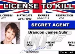 Brandon Suhr, 19, is accused of killing his girlfriend's 13-year-old brother.