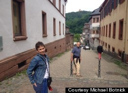 Susan Fabrikant and Michael Botnick in Weinheim, Germany. The Idaho couple got a two-year contract to work in Europe.