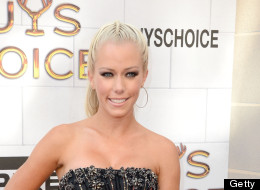 Kendra Wilkinson has turned the corner on a bout of postpartum depression.
