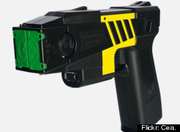 Hospital staff said the Taser didn't appear to have harmed Rent's unborn child.
