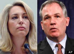 Valerie Plame Wilson and Patrick Fitzgerald