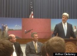 Rep. Reid Ribble (R-Wisc.), Sen. Scott Brown (R-Mass.) and Sen. John Kerry (D-Mass.) launch the Cranberry Caucus