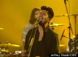 The Temper Trap performed in New York on Wednesday.