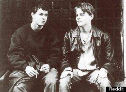 Leonardo DiCaprio & Mark Wahlberg photographed in 1995.