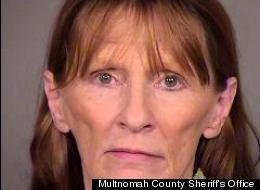 Kola J. McGrath was charged with trespassing on Monday after she snuck into her boyfriend's apartment complex by hiding in a suitcase.
