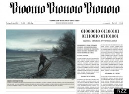 The newspaper published its first digital edition on Friday