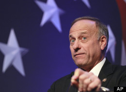 Rep. Steve King (R-Iowa) addresses the Conservative Political Action Conference in February 2011.