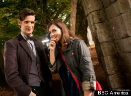 First photo of Matt Smith and Jenna Louise Coleman together on