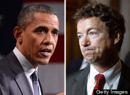 Senator Rand Paul gloated about Governor Scott Walker's Wisconsin recall win, asking Obama if he'd heard about the