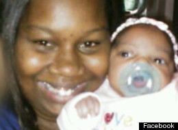 Iesha Hill, seen here in a Facebook photo with her 5-month-old daughter, was arrested after allegedly putting booze in the infant's baby formula.