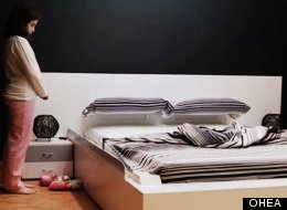 OHEA's Smart Bed makes itself.