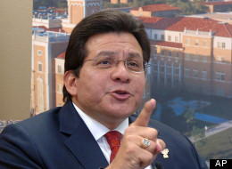 Former Attorney General Alberto Gonzales speaks in a 2009 interview