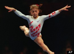 Jennifer Bricker, who was born without legs, sent Dominique Moceanu a letter saying that she was the Olympic gymnast's biological sister, ABC's 20/20 reported.