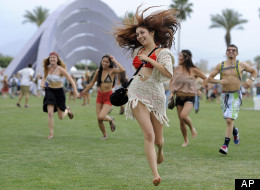 Update: The folks will be skipping on the deck of a Coachella Cruise.