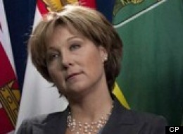British Columbia's premier is continuing her tough talk about Enbridge's (TSX:ENB) proposed Northern Gateway pipeline project, but she says she's still not ready to make any conclusions about it.
