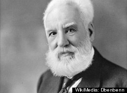 A portrait of Alexander Graham Bell.