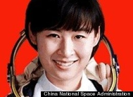 Liu Yang, China's first female astronaut.