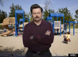 Nick Offerman on losing Ron Swanson's mustache.