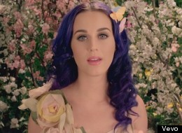 Katy Perry in her new video for