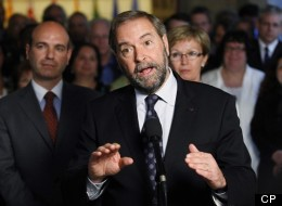 Mulcair enjoys a 34-point advantage over his nearest competitor in Quebec, according to a new Leger poll. (CP)