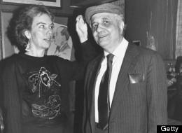 Andrew Sarris (R), famed film critic