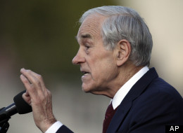 Rep. Ron Paul (R-Texas) speaks at the University of California-Berkeley on April 5.
