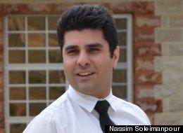Playwright Nassim Soleimanpour