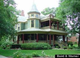 The Horatio Norton house in Oak Park.