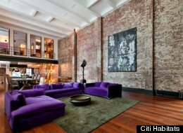 A growing number of rich people are shelling out six figures per month to rent luxury homes, CNBC reports. In this photo, a three-bedroom rental in SoHo, Manhattan, costs $100,000 per month.