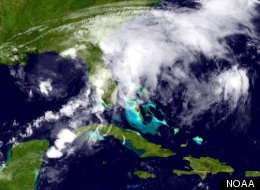 A ghostly Tropical Storm Debby is drenching Florida and surrounding regions.