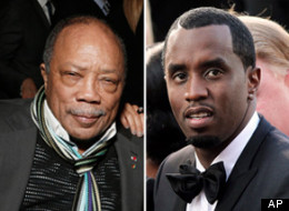 Quincy Jones doesn't think Diddy can recognize a B flat.