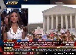Fox goes ballistic on health care decision.