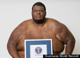 At 704 pounds, American Sumo wrestler Emmanuel Yarborough is the 'Heaviest Living Athlete,'
