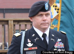 Lt. Col. Roy Tisdale of Alvin, Texas, was killed after being shot at Fort Bragg, North Carolina on Thursday.