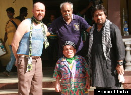 Karl Pilkington and Warwick Davis make their Bollywood debut