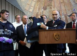 Ray Kelly, Mayor Bloomberg update New Yorkers on shooting of an NYPD Officer. July 5, 2012