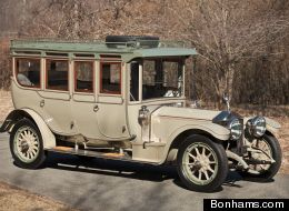 A classic Rolls Royce first made in 1906 was auctioned off for over $7 million by Bonhams.