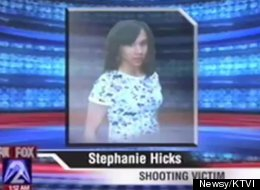 Stephanie Hicks, 20, killed herself by shooting herself in the head with a police officer's gun, according to a medical examiner.