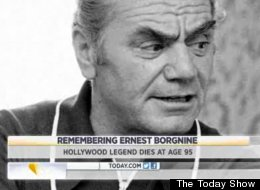 Actor Ernest Borgnine passed away on Sunday at 95.