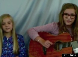 Lennon, 12, and Maisy, 8, cover Imogen Heap's