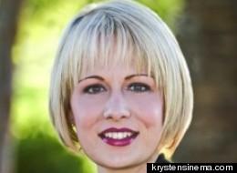 Arizona congressional candidate Krysten Sinema