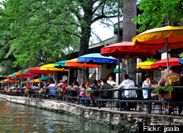 San Antonio, Texas, with its famous River Walk along the San Antonio River, was number one on AARP's list of