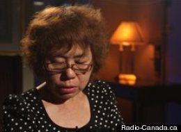 La mère de Lin Jun. (Radio-Canada.ca)