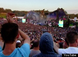 Tomorrowland TV will bring festival scenes -- like this image from last year's event -- to viewers at home.