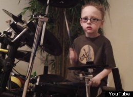 Jaxon Smith is a six-year-old child prodigy whose drumming has to be seen to be believed.